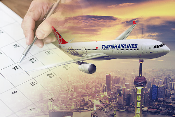 Turkish Airlines Low Fare Calendar